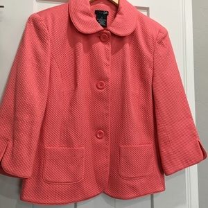 East 5th blazer jacket large button  size 10
